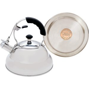 Chef S Secret Kttkc Surgical Stainless Steel Tea Kettle With Copper Capsule Bottom Mirror Finish