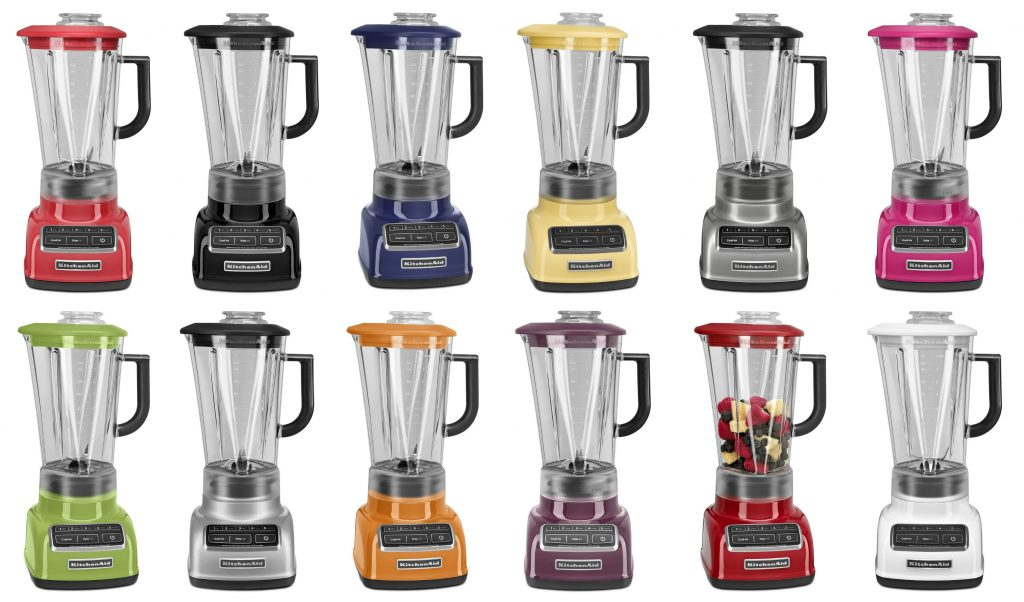 kitchenaid diamond blender. there are no other brands that we can think of offer this wide a range colour options. is another reason love kitcehnaid. kitchenaid diamond blender n