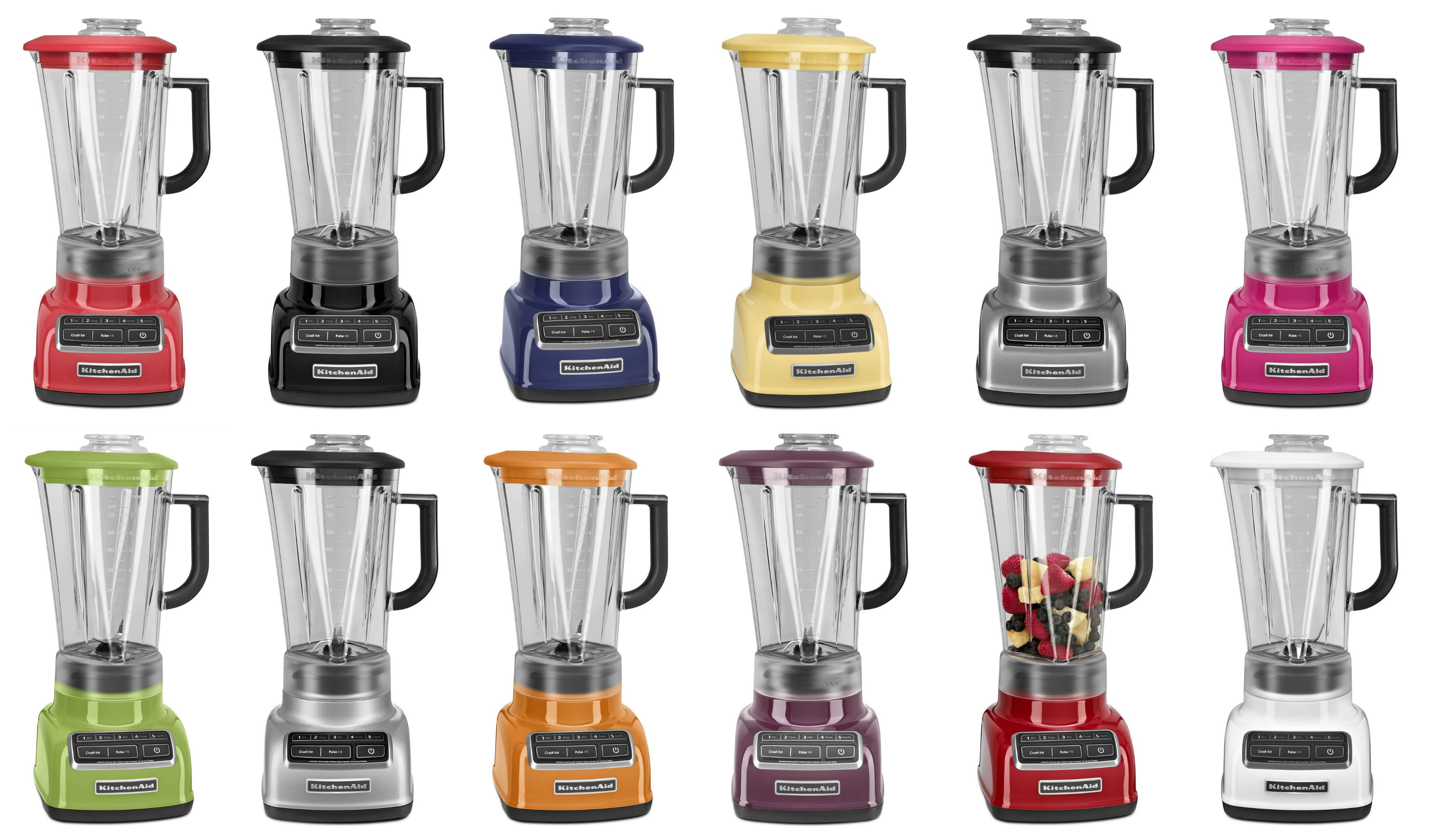 Kitchenaid 5 Speed Blender kitchenaid 5-speed diamond blender review - cook logic